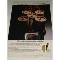 Propaganda Relógios Orient Lycra Man De 1980