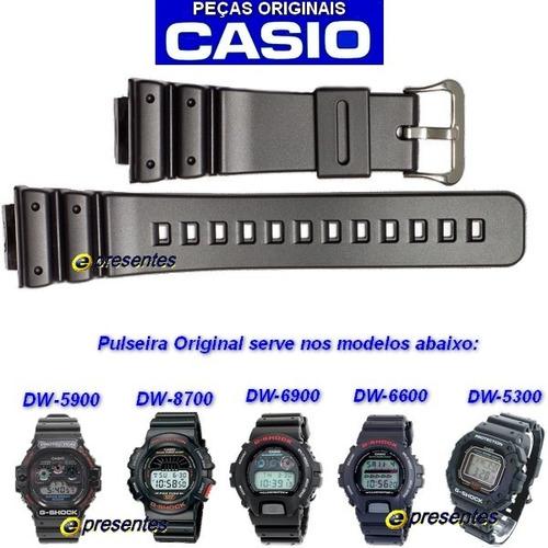 71c0c374139 Pulseira Casio G-shock Dw-6900 Dw-8700 16mm 100% Original