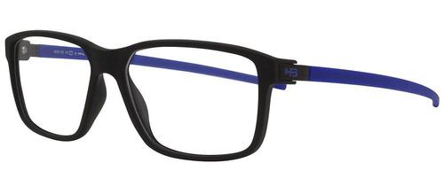 Armação Oculos Grau Hb 9314271033 Preto Azul Fosco 08484d03d7