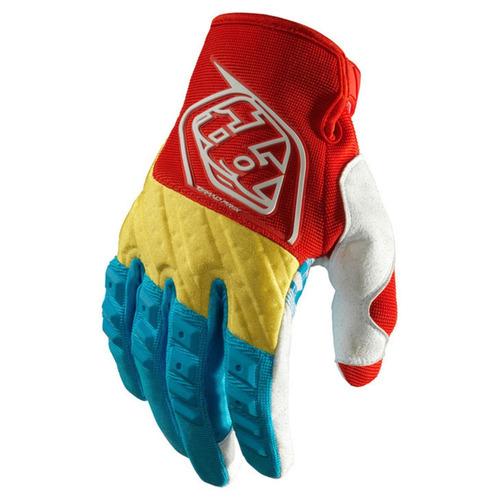 Luva Motocross Trilha Troy Lee Designs Gp Glove Azul / amarelo