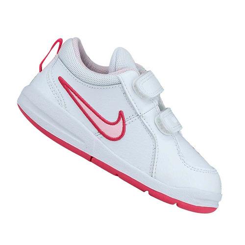 Tênis Nike Infantil Menina Pico 4 Branco 454478103 Original 0a750ce3183b6