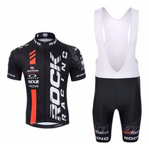 Conjunto Roupa Ciclismo Bike Rock Short Camisa Coolmax Gel