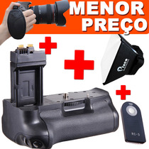 Kit Battery Grip Para Nikon D3200 D5100 D5200 D600 D800 D700