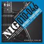 Cordas  Nig Para Guitarra N-64 .010-.046 Mais 1º Mi Extra