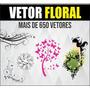Imagens Vetor Floral, Arte Editável Corel