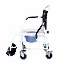 508748570 Cadeira De Banho Higiênica Rodas Multiuso Assento Sanitário à venda ...