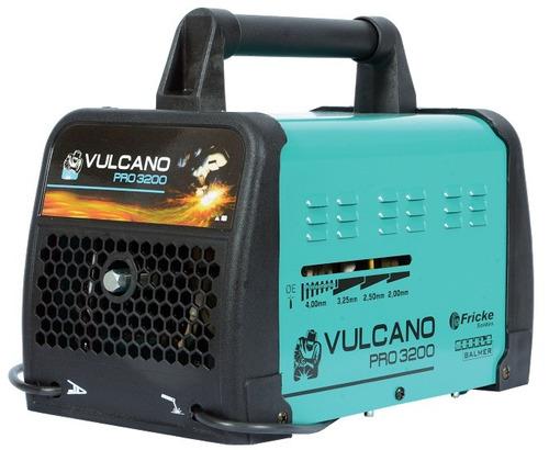 Máquina De Solda Vulcano Pro 3200 260a 110 / 220v Balmer