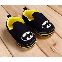 Sapatinho De Bebê Batman Importado Pronta Entrega