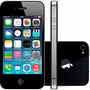 Baixou! Apple Iphone 4s 32gb Preto Completo Brinde Seminovo