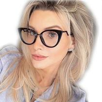 2d0212677 Armação Oculos De Grau Feminino Fend Orchidea Strass + Case