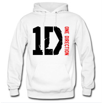 Blusa Moletom One Direction Canguru Com Capuz