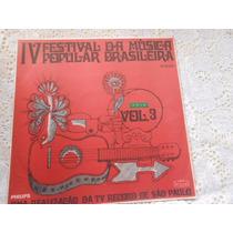 Iv Festival Da Mpb Vol. 3 Record Os Mutantes 1968 E Outros