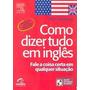 Como Dizer Tudo Em Inglês  Ron Martinez Ebook Pdf Download