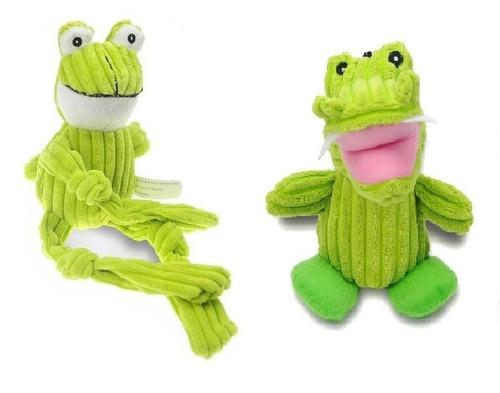 Brinquedo Para Cães Pelúcia - Crocodilo/sapo