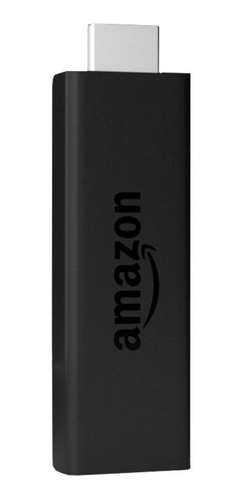 Streaming Media Player Amazon Fire Tv Stick (2nd Generation) De Voz 8gb Preto Com Memória Ram De 1gb