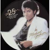Michael Jackson - Thriller - Lp 180g Picture Disc Importado