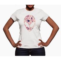 Camiseta Alien Feminina Galaxia Ufo Arquivo-x Tumblr