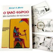 Livro E Baralho Tarô Egípcio Caminho De Iniciação 22 Cartas