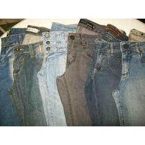 Lote 10 Calças (42) Semi Novas Roupas Usadas Jeans Feminino