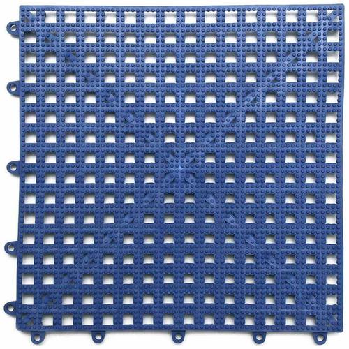 Piso Modulado Azul 30x30cm Acqua Kap Kit Com 6 Unidades Kapa