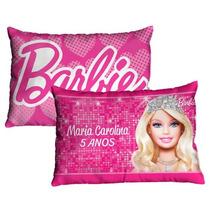 10 Almofadas Personalizadas Aniversário Barbie