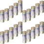 100 Fita Embalagem Adesiva Transparente Profisssinal 48x45