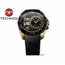 Relógio Technos Automatico Lendas Podium 2039ar/8p Silicone