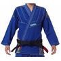 Kimono Jiu Jitsu Koral Mkm Slim Fit Azul