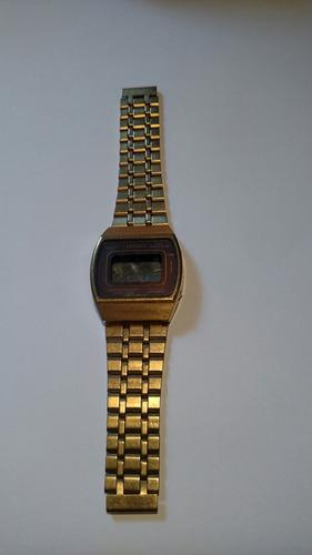 e18a52bb074 Sucata Relógio Citizen Digital Gn 4-s Dourado Frete Grátis