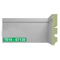 Rodapé Em Mdf Brasgroup Mod 1018 10cm Verde Ultra Madefibra