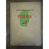 Livro Peter Pan - Monteiro Lobato