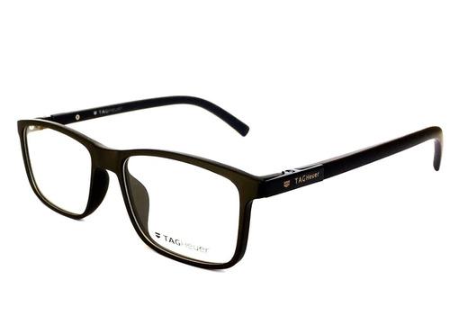 Armação Óculos Grau Masculino Tg7023 Sport Quadrado + Brinde 76d74a4a47