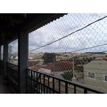 Kit Equiplex Rede Tela Proteção Janelas Varanda 6,1 A 7m²