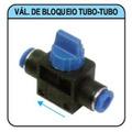 Conexão Pneumática Válvula De Bloqueio 6mm Tubo - Tubo