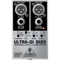Di20 Direct Box Behringer Ultra Di-20 Di 20 Ativo Original