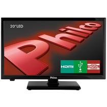 Tv Led 20 Philco Hd Receptor Integrado,hdmi-preta-ph20u21d