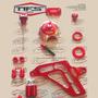 Kit De Peças Nfs Personalizadas Crf-230 7 Peças Vermelho