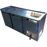 Balcão Refrigerado De Encosto  Com Cuba 1,80m Refrigel