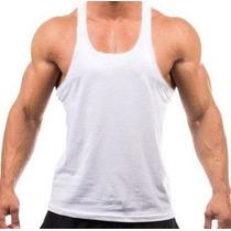 Lote 5 Regata Super Cavada Academia Masculina Musculação Pv