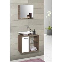Gabinete Armário Para Banheiro 60cm Jasmim