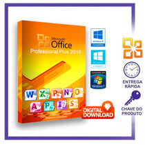 Pacote Office Pro Plus 2010 Licença Chave Serial Online