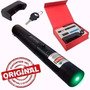 Laser Pointer Verde 98000mw Acende Fósforo C Chave Segurança