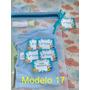 Saquinho Maternidade Zíper 8 (peças)  + Tag Pronta Entrega Original