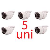 Kit 5 Camera Ccd Segurança Dia&noite Infravermellha 700tvls