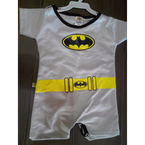 Body Infantil, Masculino, Super Heróis, Batman, Cor Cinza.