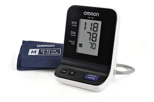 Medidor De Pressão Arterial Digital Omron Hbp-1100