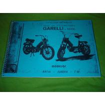 Catalogo De Peças Garelli Katia, T 50 Eureka
