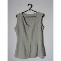 Camisa Social Feminina Verde Cód. 1042