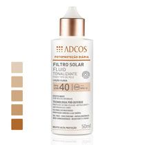 Filtro Solar Tonalizante Fps 40 Fluid Nude Adcos