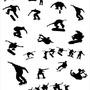 Papel De Parede Skate, Esporte,  Lavável Viníl 310x58cm
